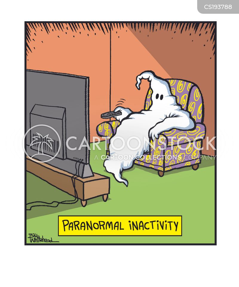 inactive lifestyle cartoon