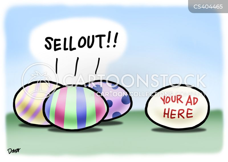sell outs cartoon