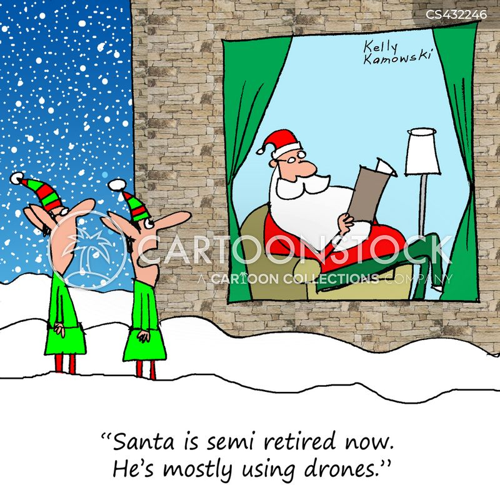 semi-retired cartoon