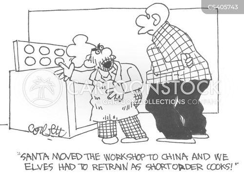 short order cooks cartoon