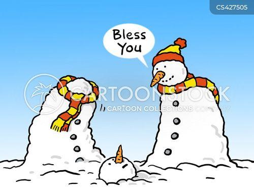 bless you cartoon