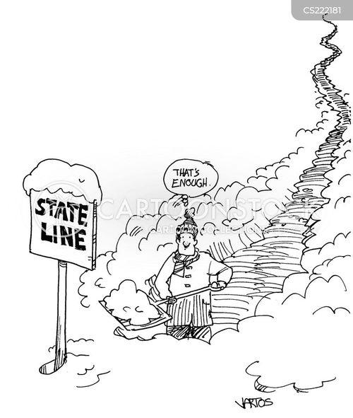state line cartoon