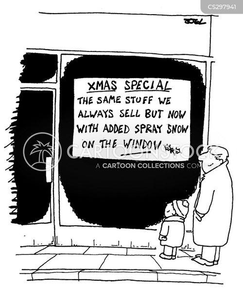 window dressing cartoon