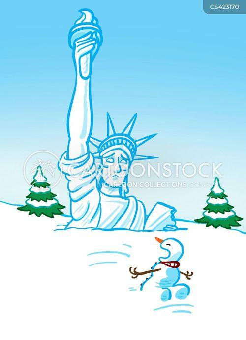 snowperson cartoon