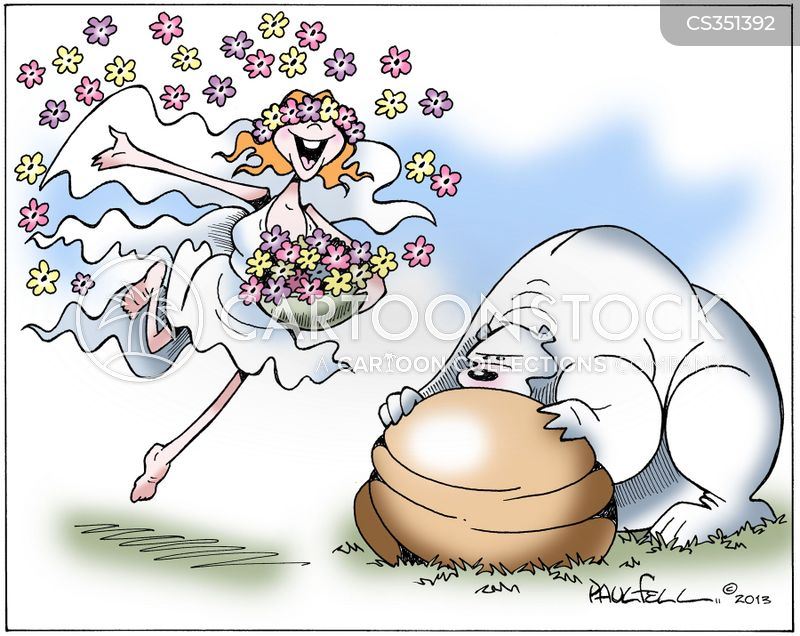 Spring Flowers Cartoons And Comics Funny Pictures From Cartoonstock