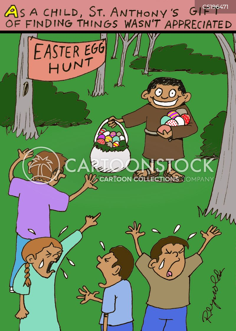 eastertime cartoon
