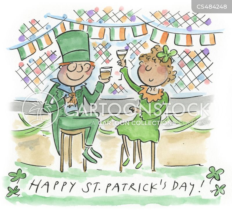 irish traditions cartoon
