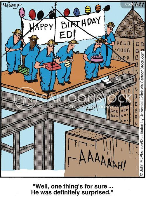 scaffolding cartoon