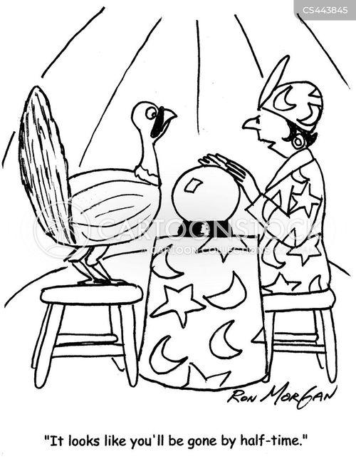 thanksgiving traditions cartoon