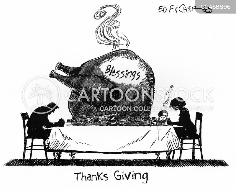 man and woman praying cartoon