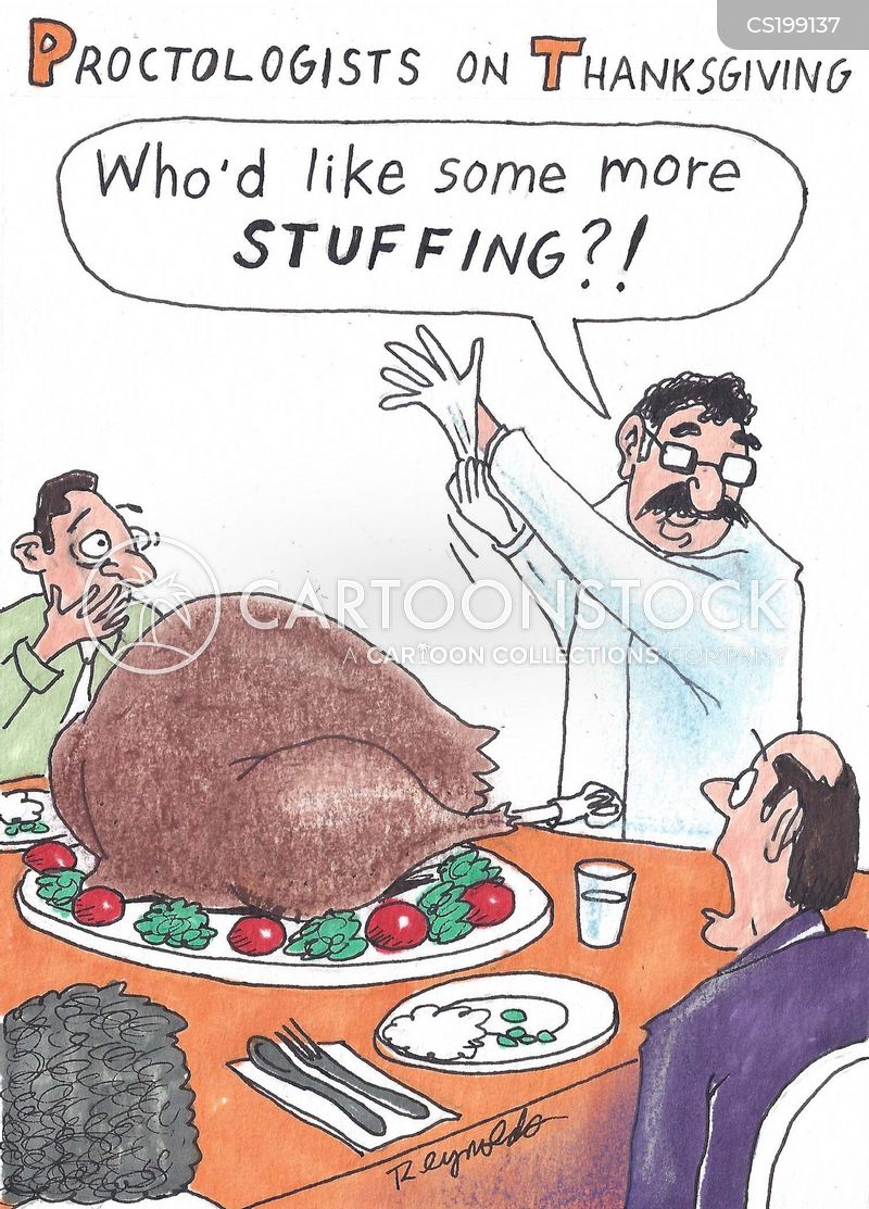 stuffing cartoon