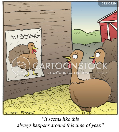 turkey farm cartoon