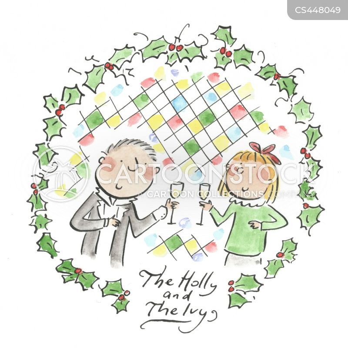 wreath cartoon