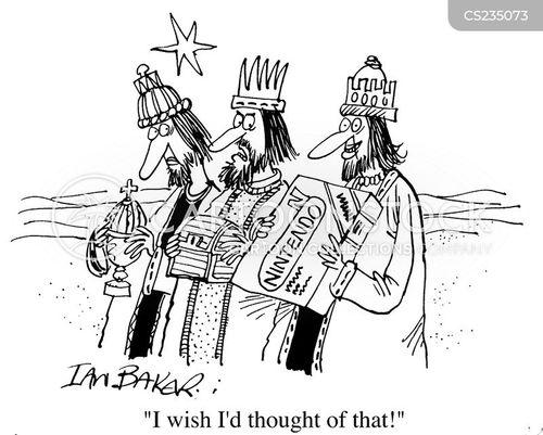 3 kings cartoon