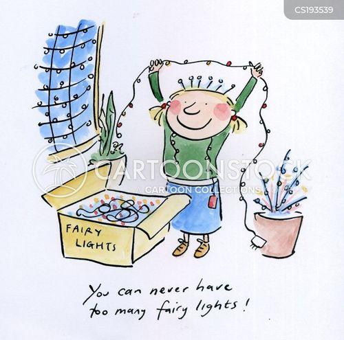 christmas decorations cartoon