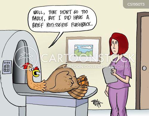 diagnostic imaging cartoon