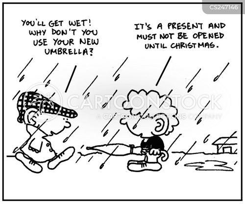 rainy condition cartoon