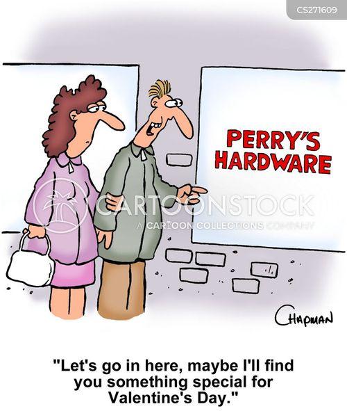 hardware shops cartoon