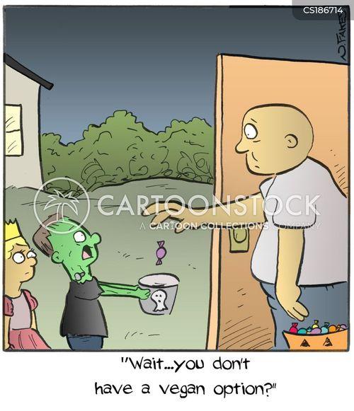 trick-or-treat cartoon