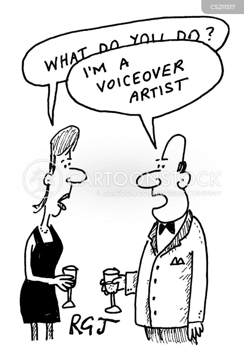 voiceover cartoon