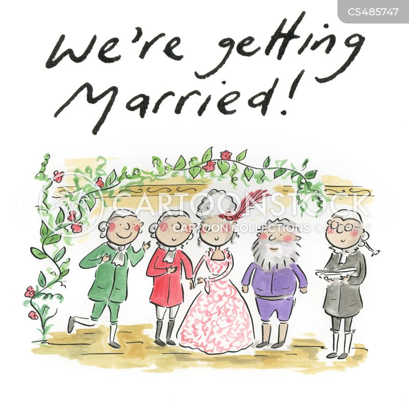 getting hitched cartoon