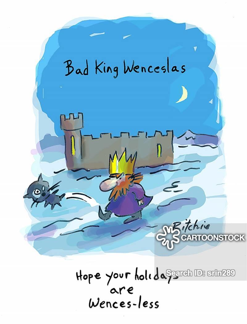 wenceslas cartoon