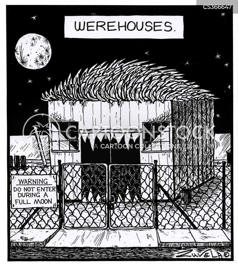 warewolves cartoon
