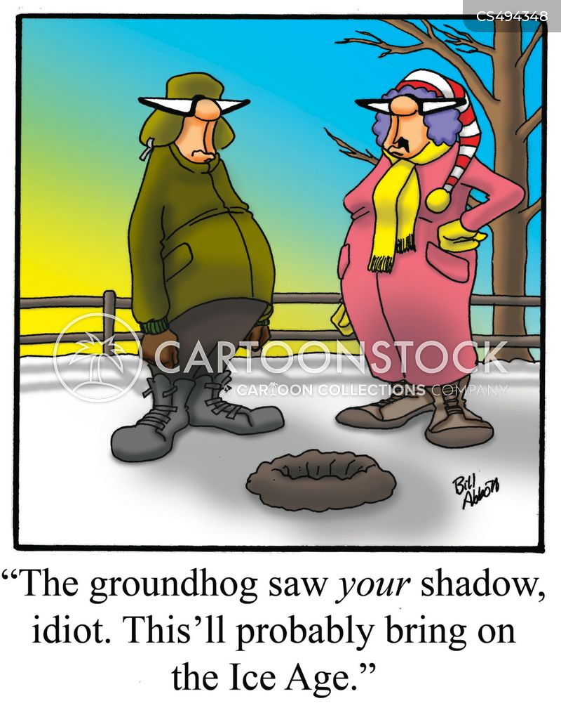 ground hog cartoon