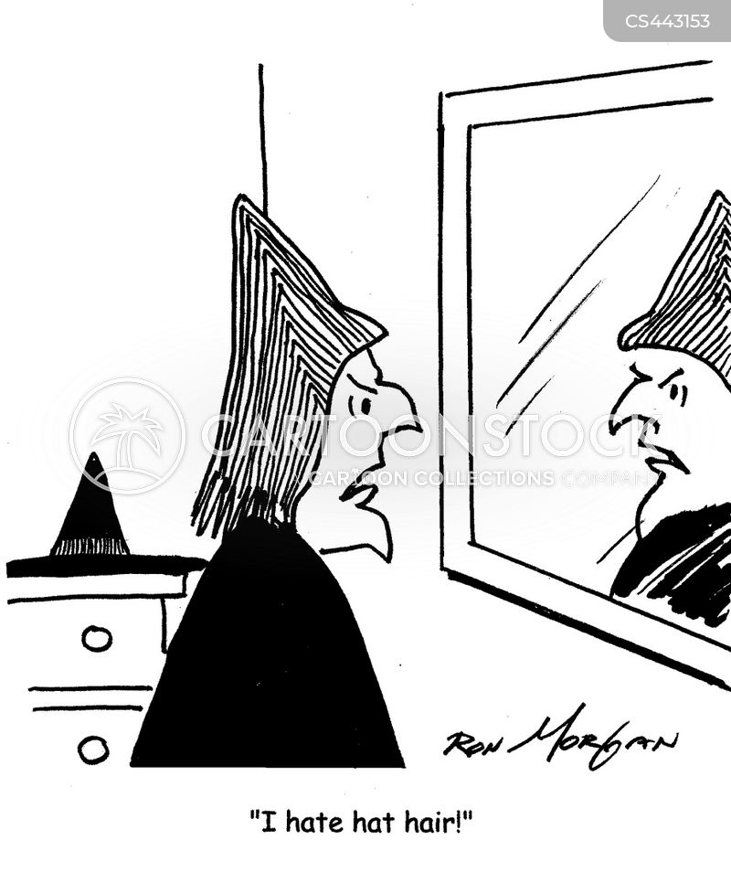 bad-hair day cartoon