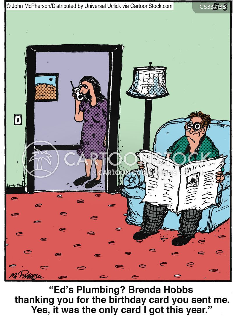 Forgetful Husband Cartoons and Comics funny pictures from – Funny Christian Birthday Cards