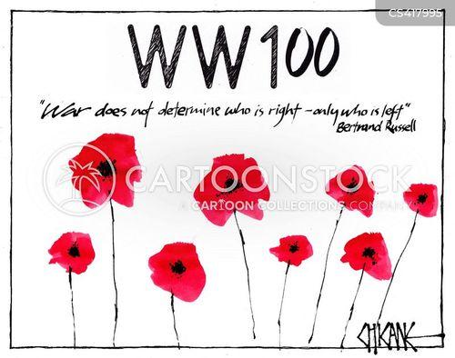 centenary cartoon