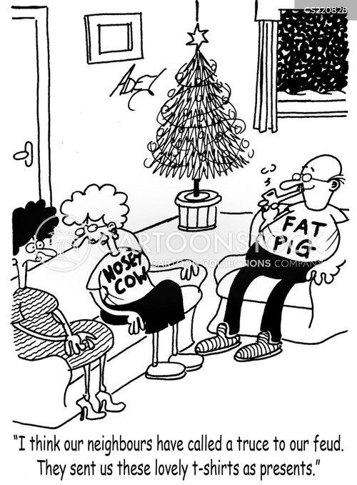 nosey cartoon