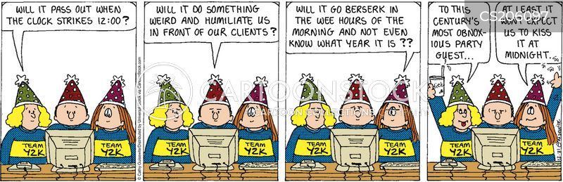 New Year's Party Cartoons and Comics - funny pictures from