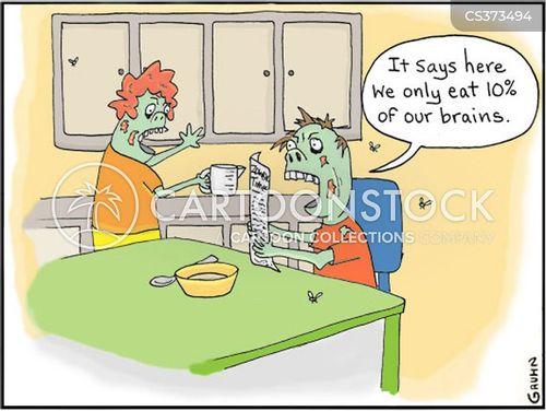 zombie movies cartoon