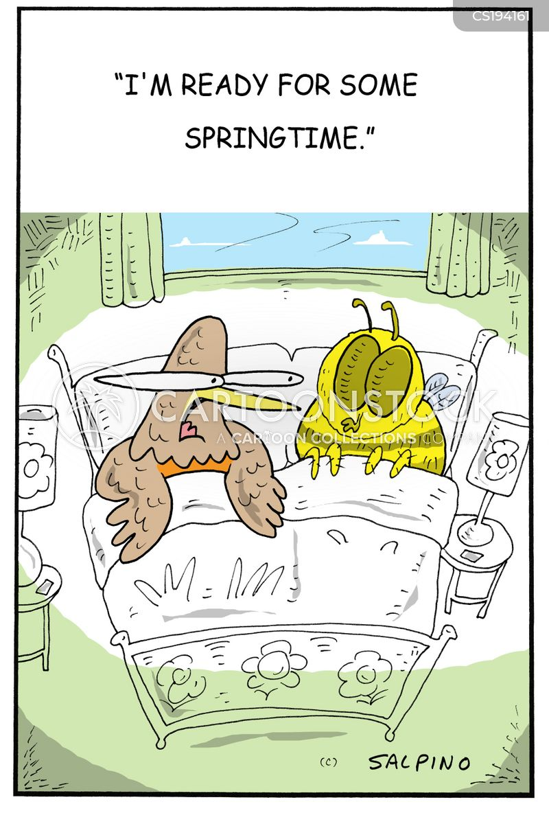 having the talk cartoon