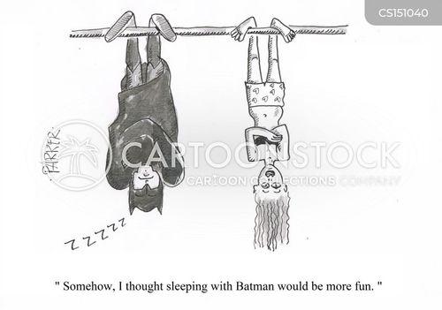 sleeping habit cartoon