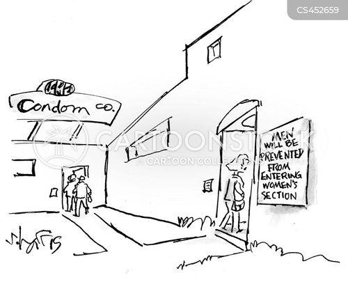 segregation cartoon