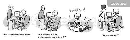 safe word cartoon
