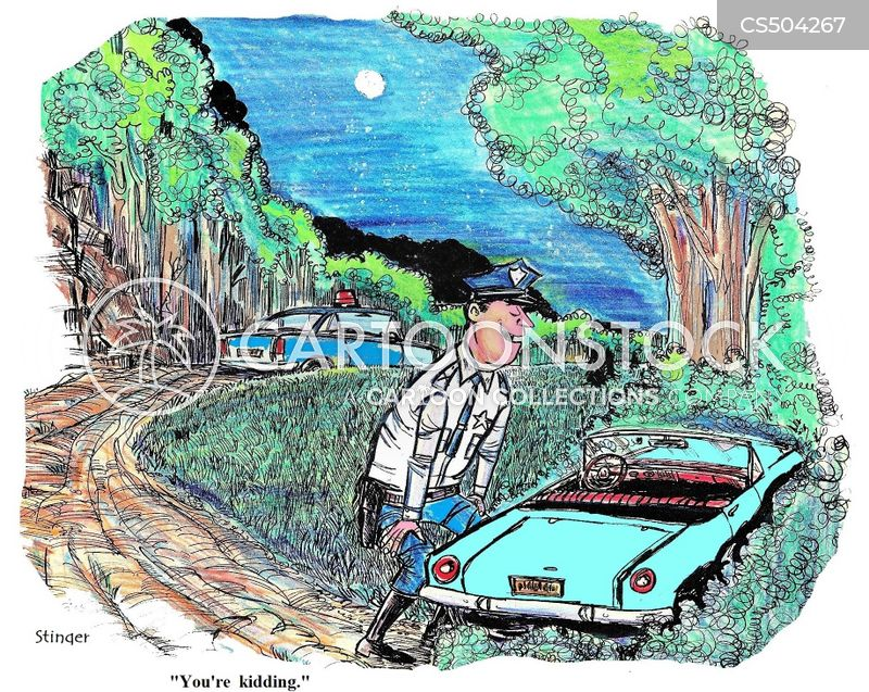 sportscar cartoon