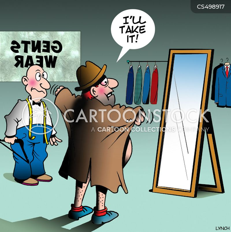 trench coat cartoon