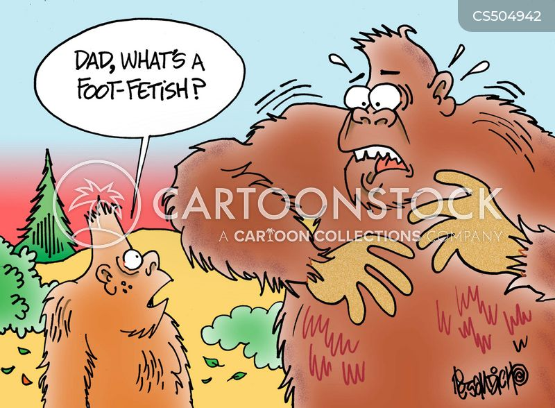 Foot-fetish Cartoons and Comics - funny pictures from CartoonStock
