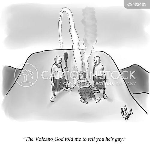 virgin sacrifice cartoon