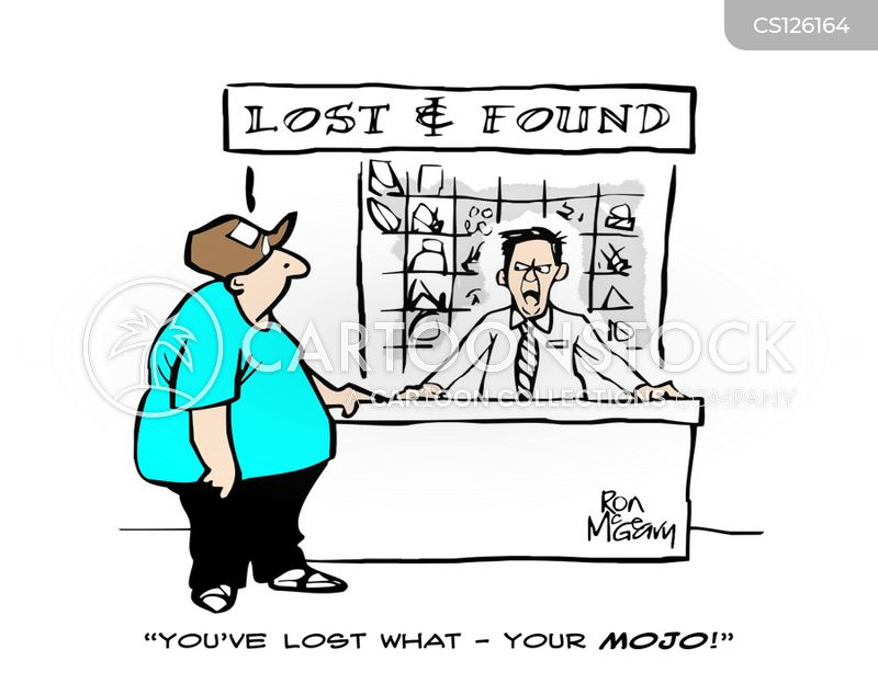 lost properties cartoon