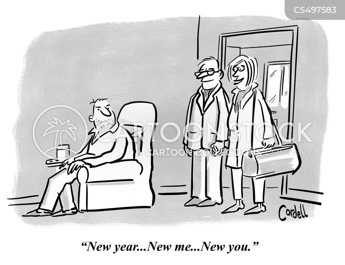 new start cartoon