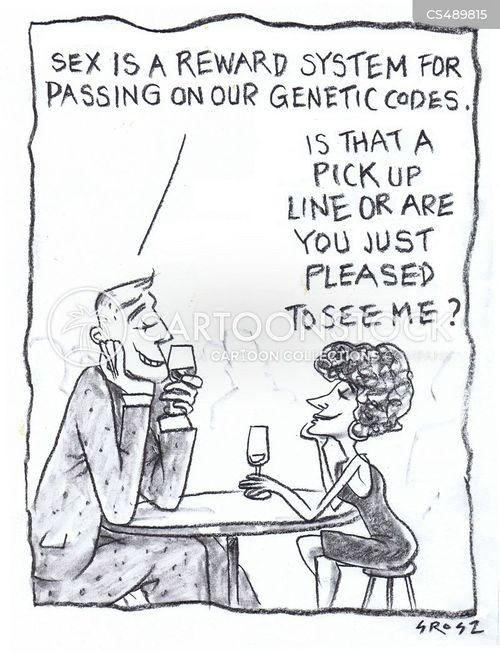 genetic codes cartoon