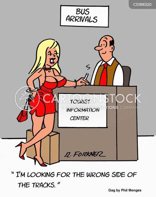 wrong place cartoon