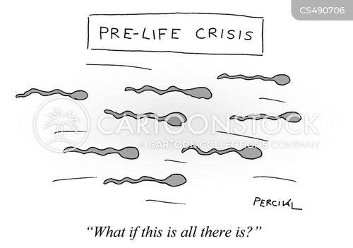 sperms cartoon