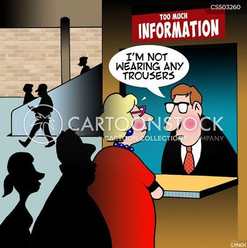 information points cartoon