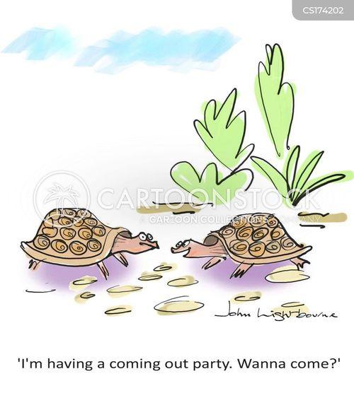invite cartoon