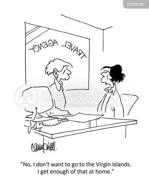 virgin islands cartoon